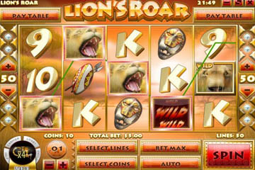 Lion's Roar™ Slot Machine Game to Play Free in Rivals Online Casinos